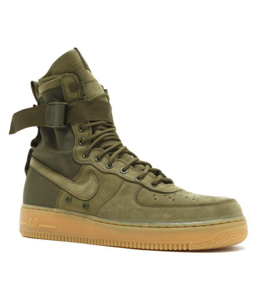 3e34ed298423 Nike Air Force Sf1 Green Training Shoes - Buy Nike Air Force Sf1 ...