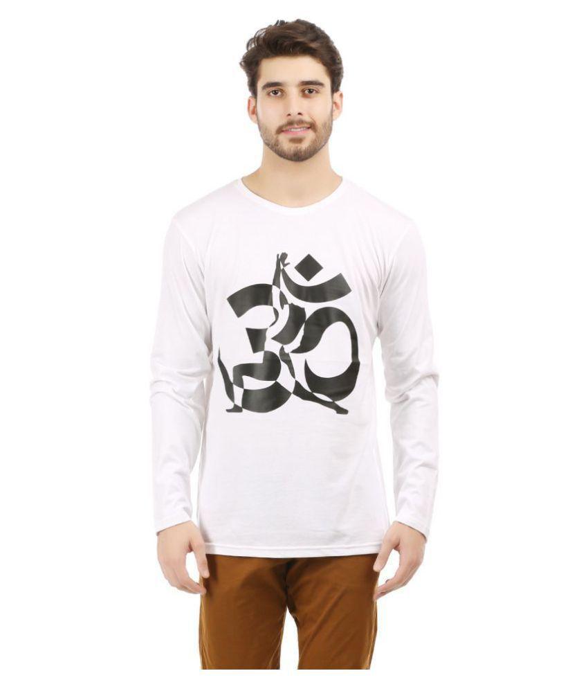Trends Tower White Full Sleeve T-Shirt