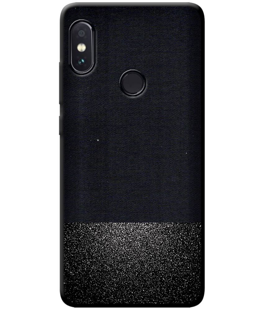 sneakers for cheap 8c508 a3b15 Xiaomi Redmi Note 5 Pro Soft Silicon Cases Cellmate - Black Premium Look  Soft Fabric Protective TPU Waterproof