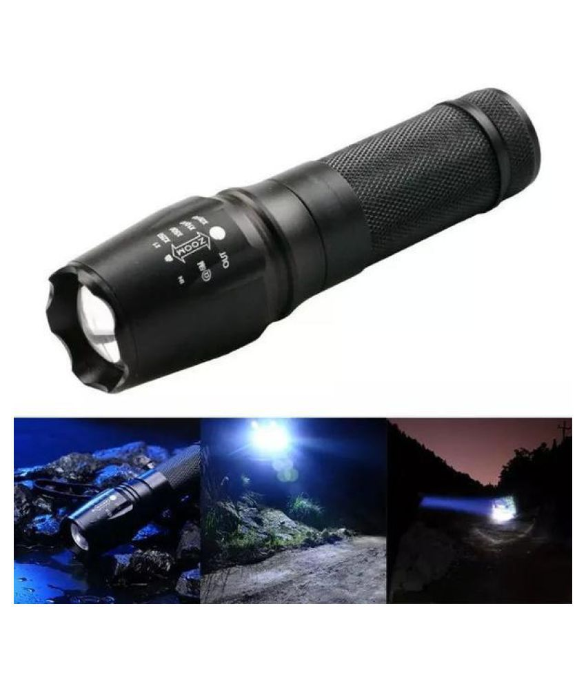 Focus 5000 Lumens 3 Modes CREE XML T6 LED 18650 Flashlight Torch Lamp Powerful