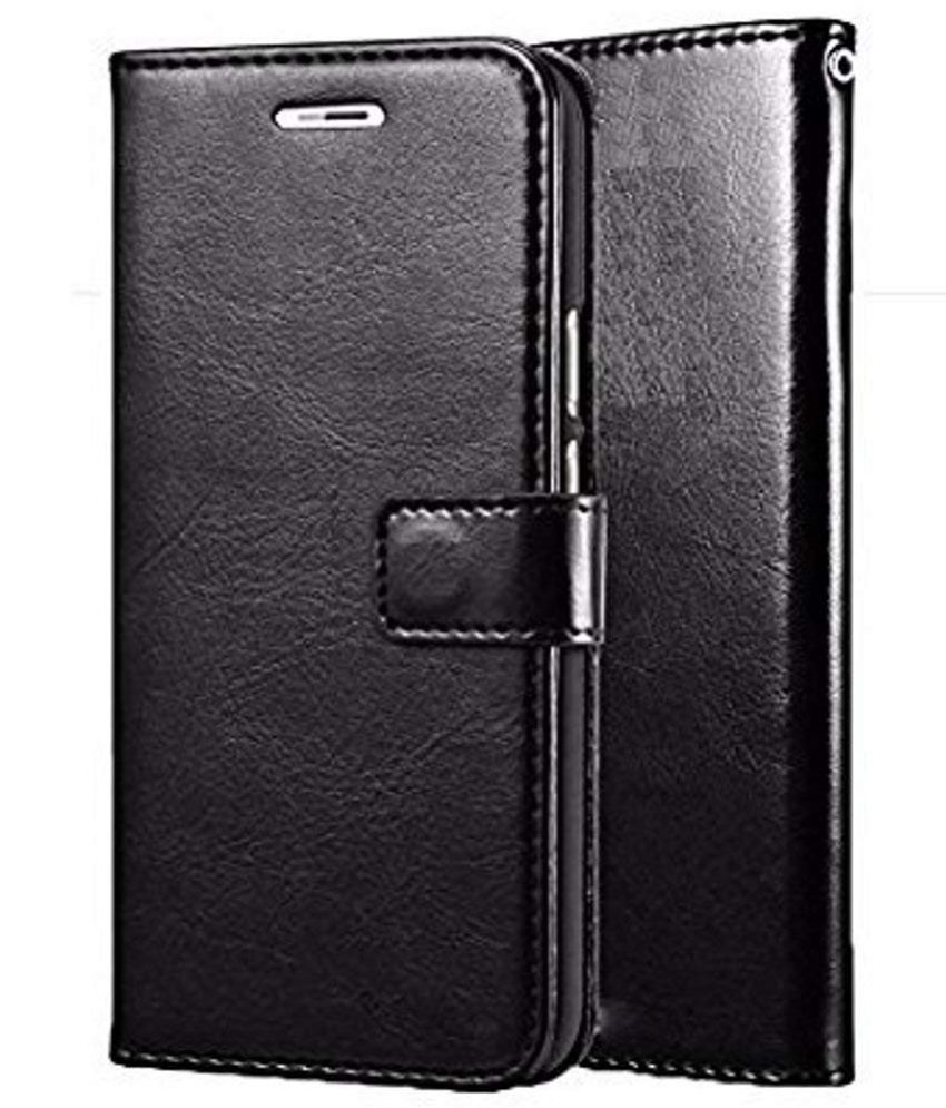Gionee A1 Lite Flip Cover by SESS XUSIVE - Black