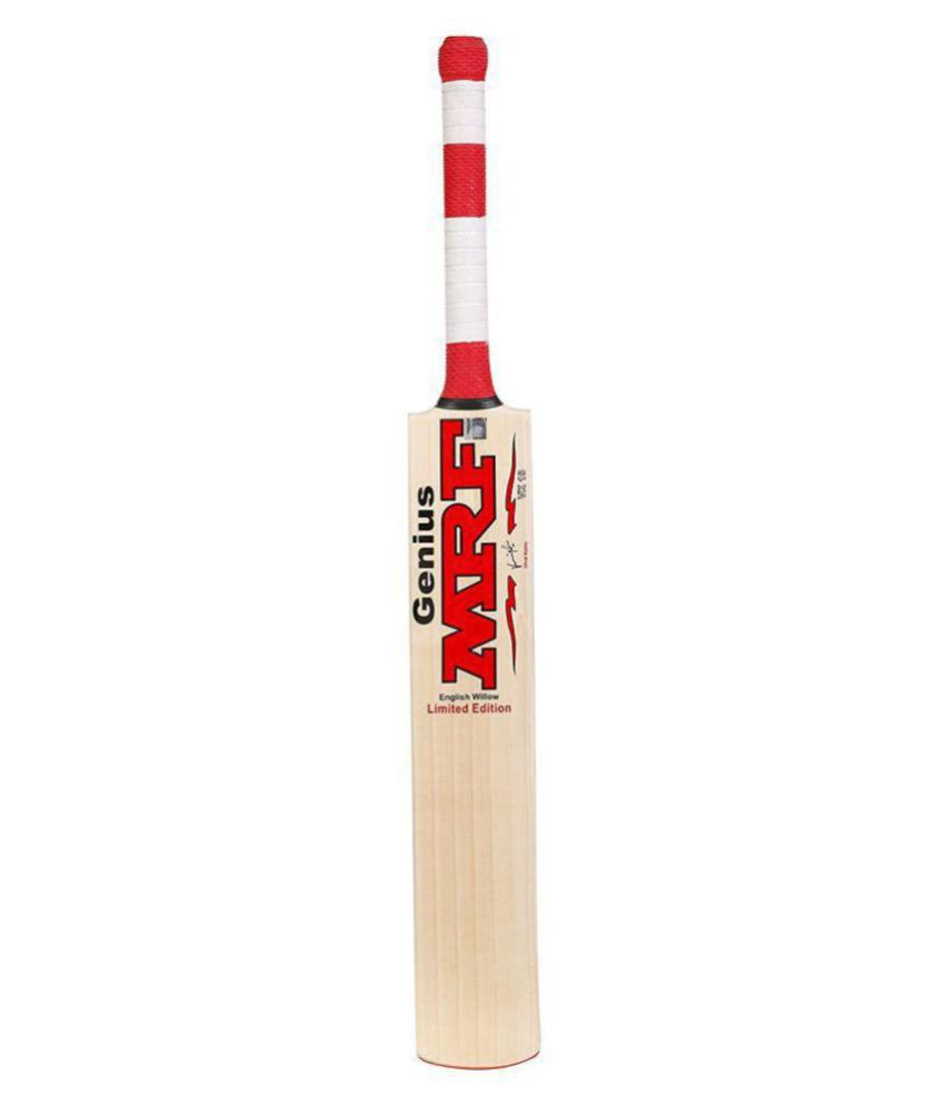 MRF Genius Signed By Virat Kohli Tennis Bat Popular Willow Cricket Bat stw01214