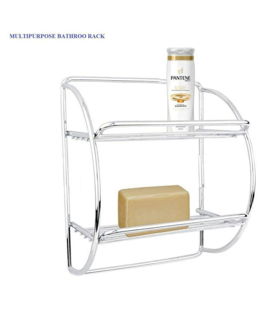 Buy Royal Home Decor Stainless Steel Multipurpose Bathroom Rack Online At Low Price In India
