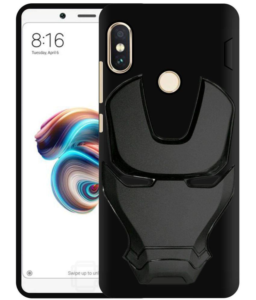 best service f143b 2bed2 Xiaomi Redmi Note 5 Pro Shock Proof Case Bracevor - Black