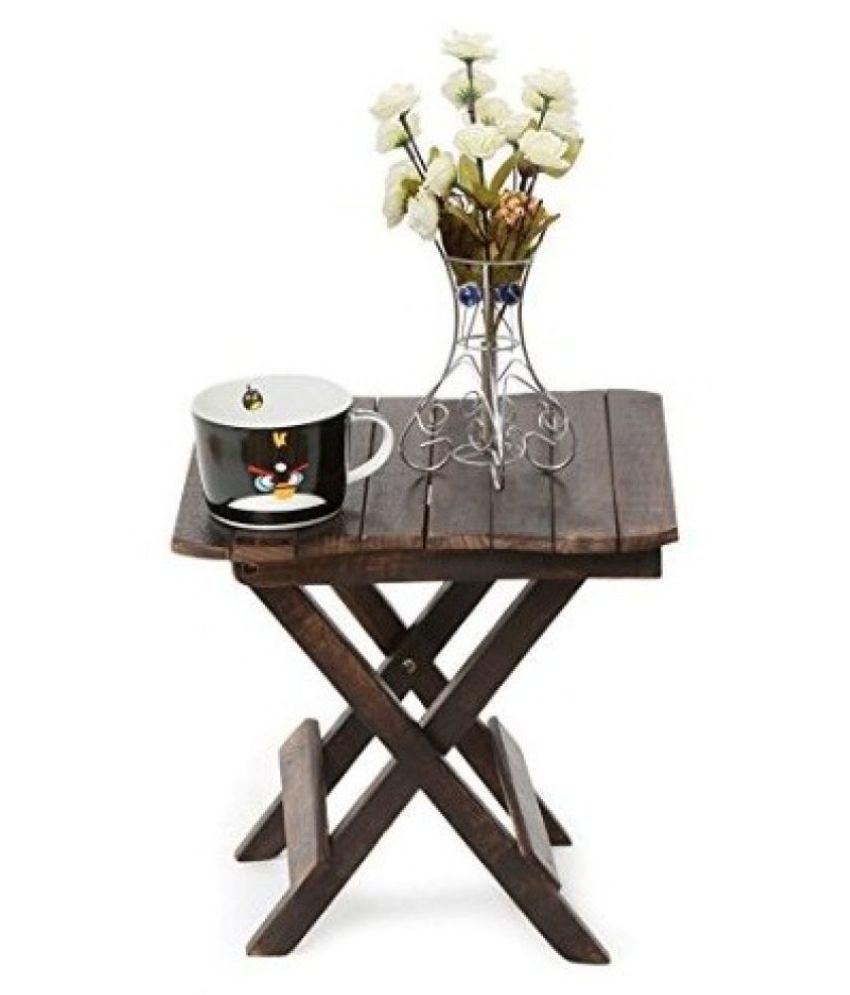 Desi Karigar Wooden Beautiful Design Folding Table For ...