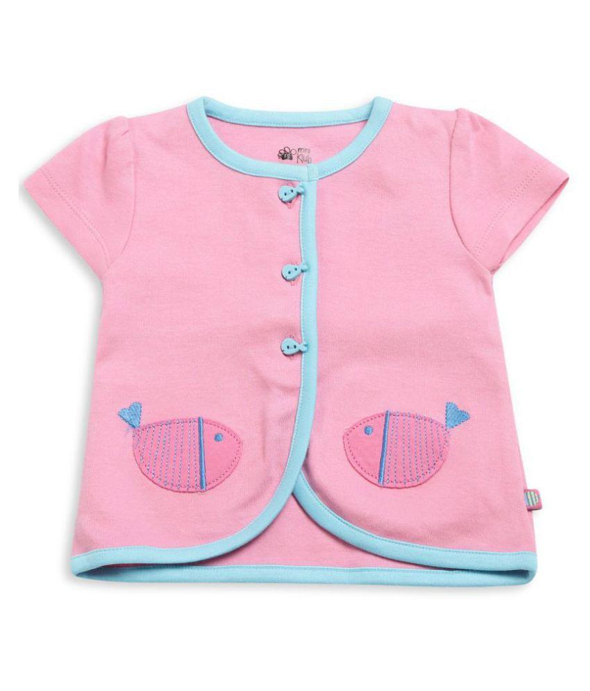 FS MiniKlub Girl's Tops-Pink