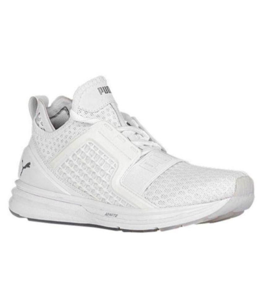 online retailer 73b79 3983d Puma Ignite Limitless White Running Shoes