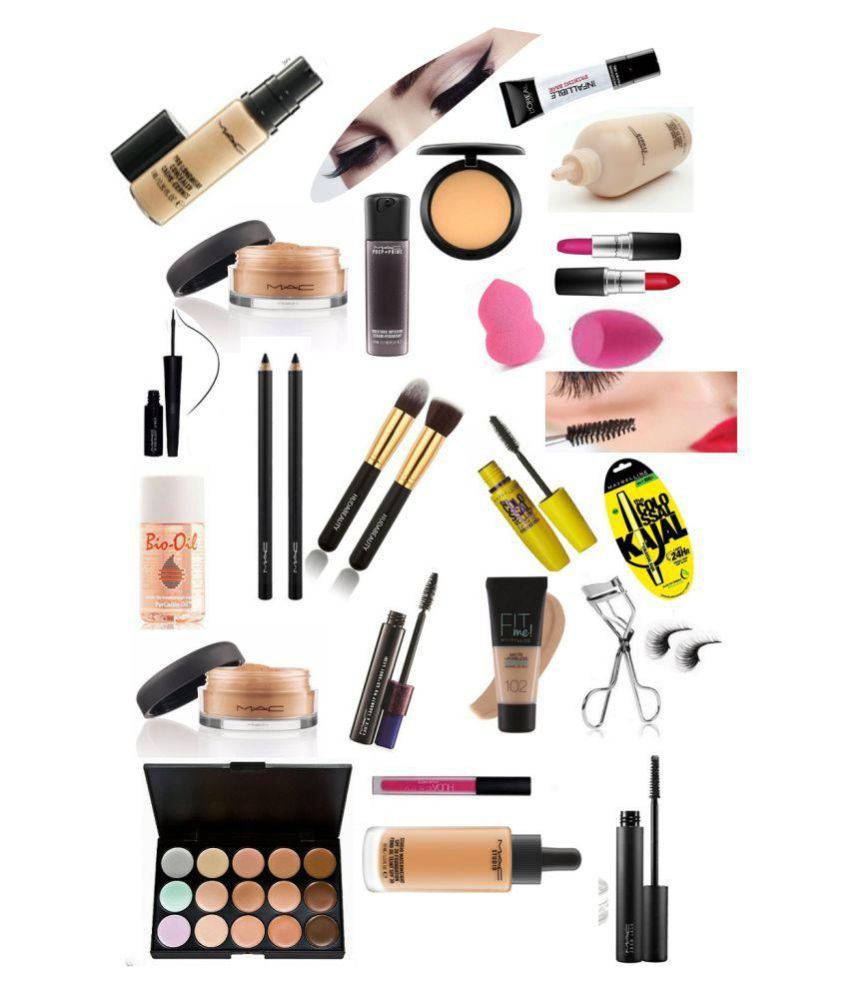Mac +Huda+maybelline+Loreal Makeup Kit 59 gm: Buy Mac +Huda+maybelline+Loreal Makeup Kit 59 gm at Best Prices in India - Snapdeal