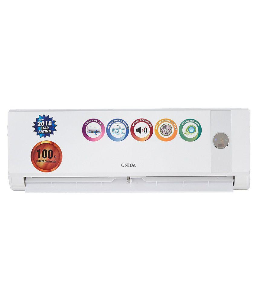 0bc3d1a6e89 Onida 1 Ton 3 Star SR123TDN Split Air Conditioner Price in India - Buy Onida  1 Ton 3 Star SR123TDN Split Air Conditioner Online on Snapdeal