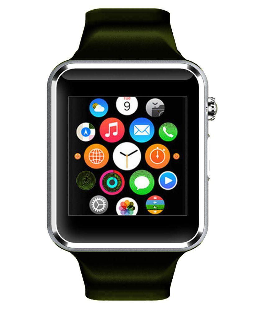 WOKIT Smartwatch Suited BlackBerry DTEK60 A1 Silver Smart Watches