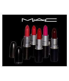 Mac Matte (Set Of 5) Combo Lipstick Multicolor 3 gm