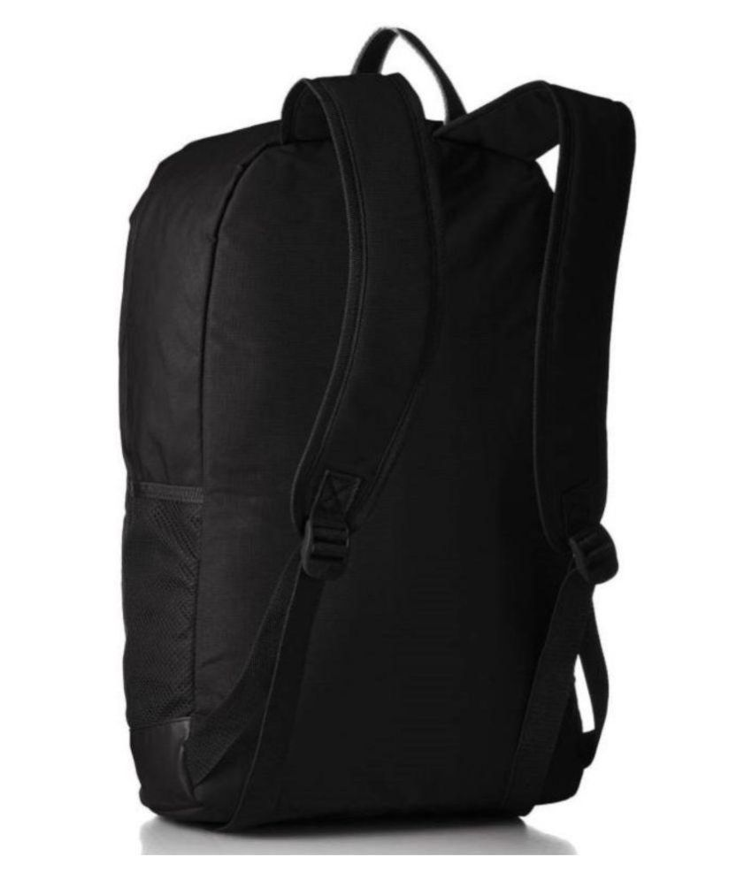 283f10c479 ... Adidas Black Canvas College Bags Backpacks- 20 Ltrs Gents Bag Carry Bag  Men ...