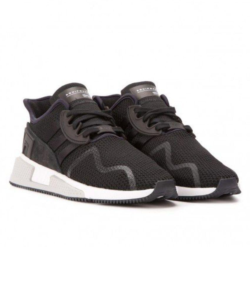 meet 4ce95 e62d6 Adidas EQT CUSHION ADV Black Running Shoes - Buy Adidas EQT ...
