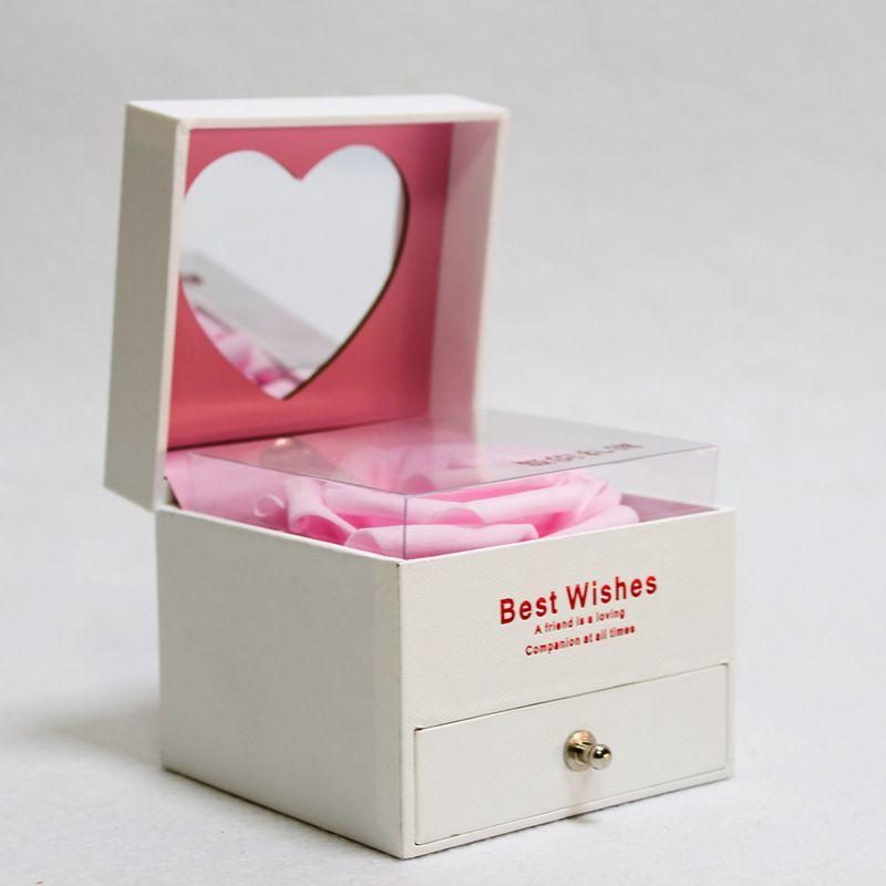 Immortal flower jewelry box Fashion Jewellery