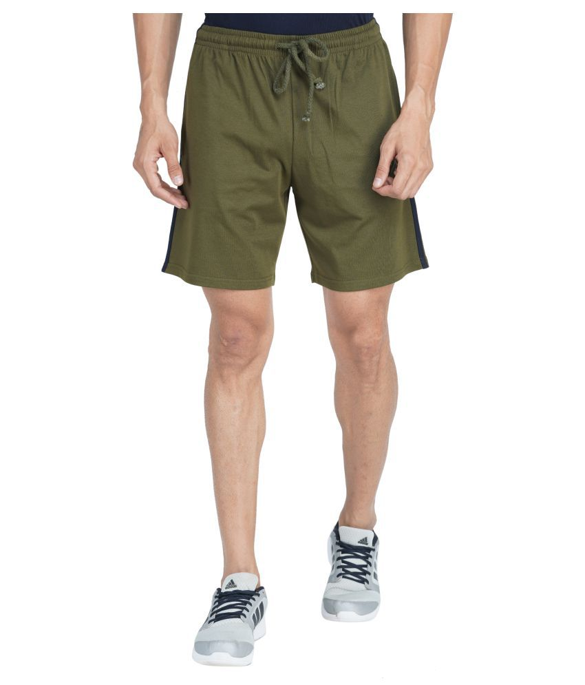 Wake Up Competition Green Shorts