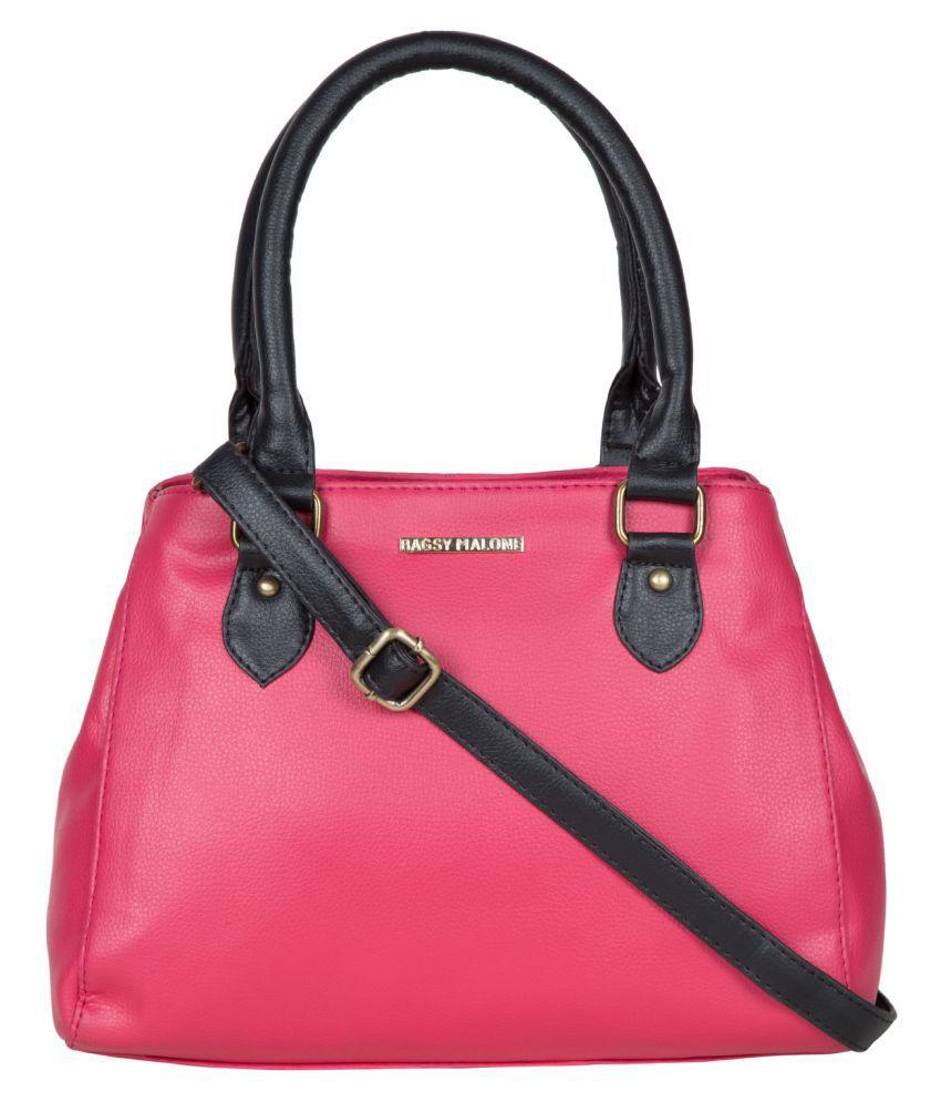 Bagsy Malone Pink P.U. Handheld
