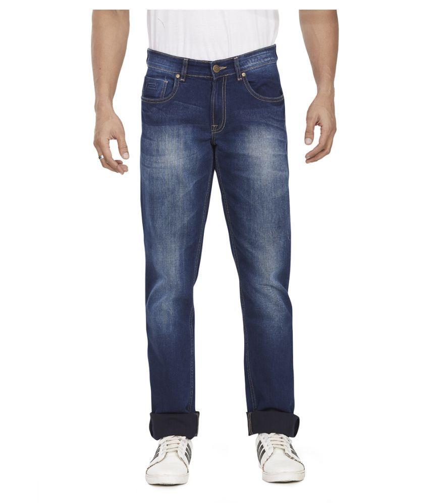 k21 Blue Regular Fit Jeans