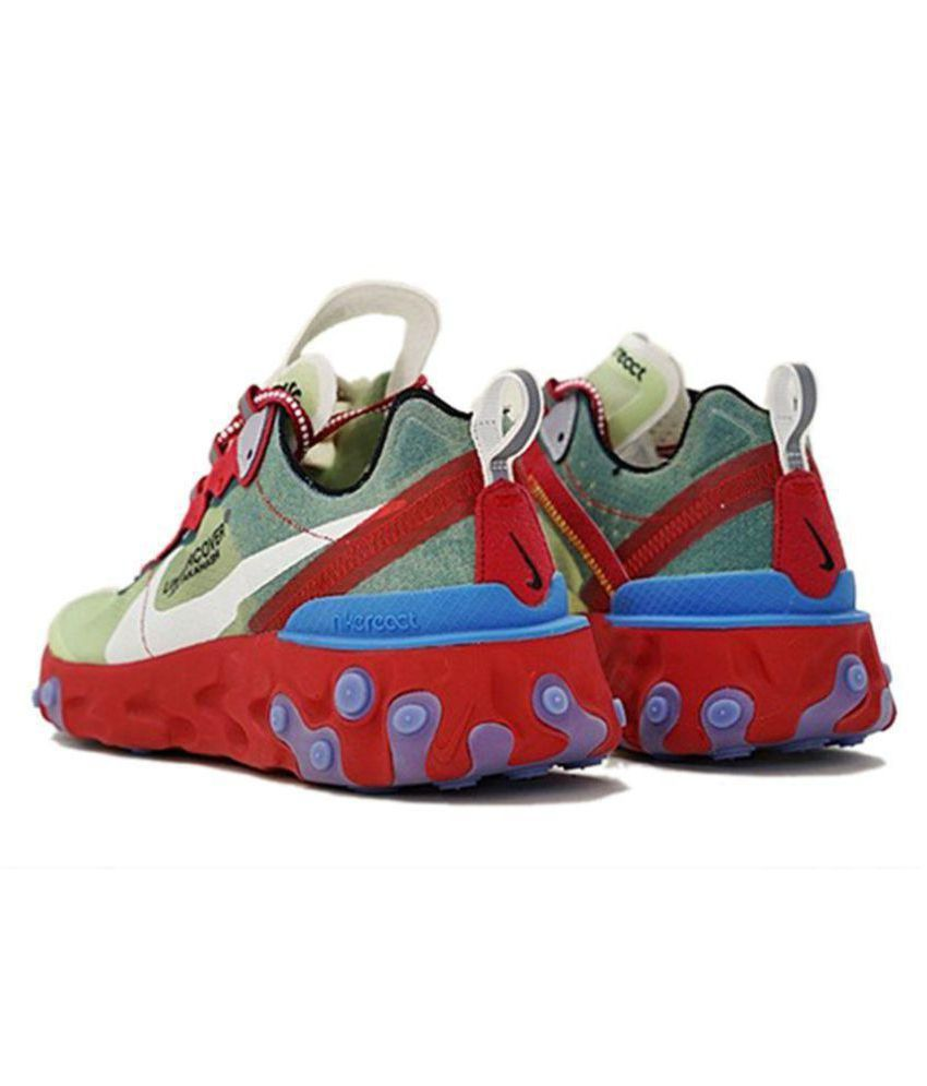 e159dc66915500 Nike Undercover X React Element 87 2019 Red Running Shoes - Buy Nike ...