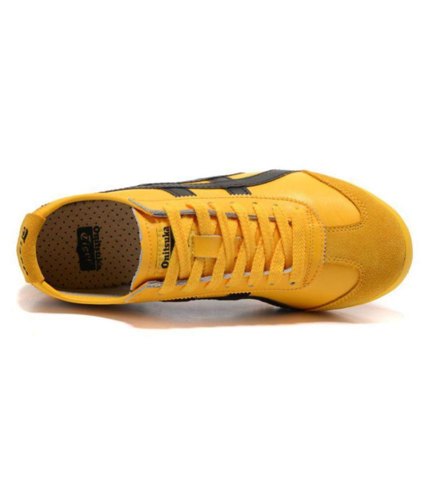 best service fe899 aa048 ONITSUKA TIGER Sneakers Yellow Casual Shoes
