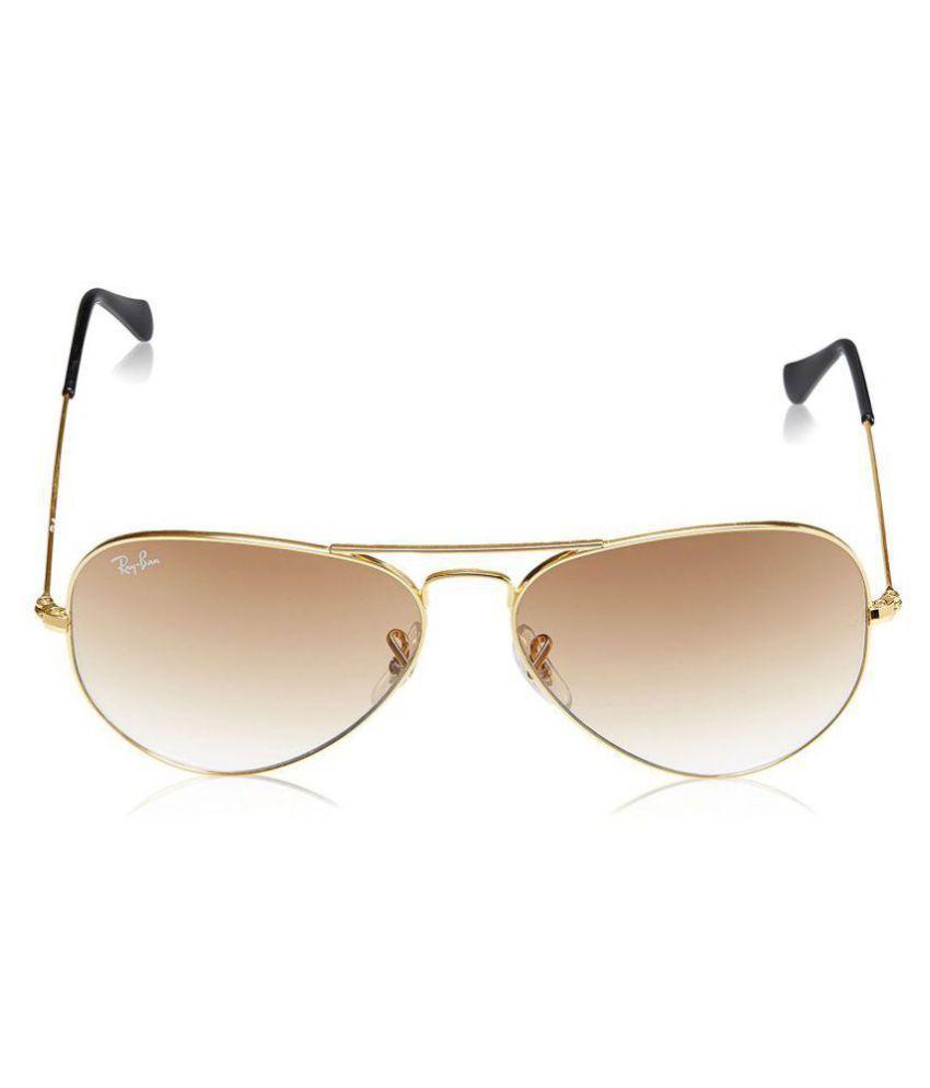 88bc0d1988f52 Ray Ban Avaitor Brown Aviator Sunglasses ( RB5878456 ) - Buy Ray Ban ...