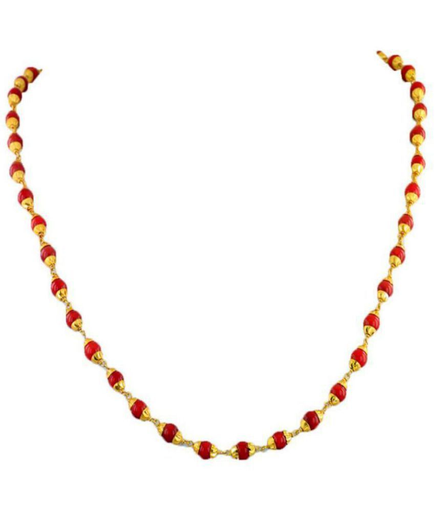 Avaatar 92.5 Yellow Gold Necklace
