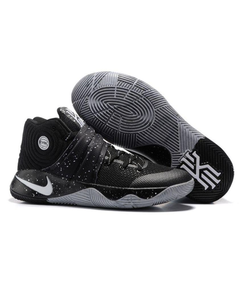 fe1e9db257e5a Nike Kyrie 2 EYBL Black Basketball Shoes - Buy Nike Kyrie 2 EYBL Black Basketball  Shoes Online at Best Prices in India on Snapdeal
