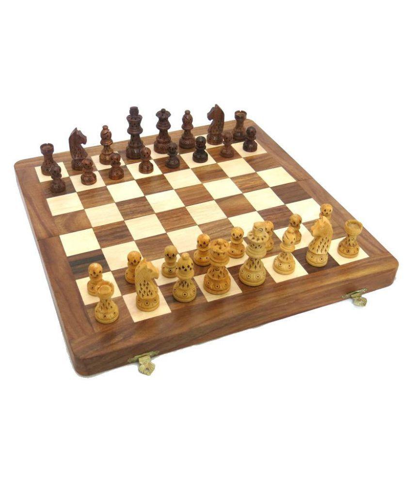 Art Palace Wooden Assorted Chess XXL