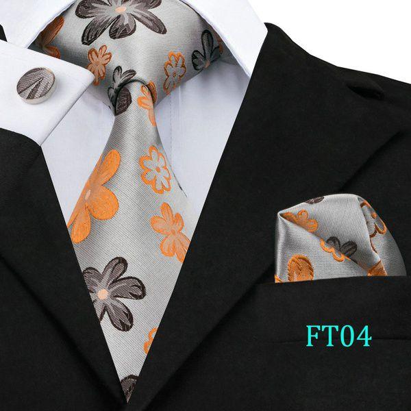 Kamalife Multi Floral Silk Necktie