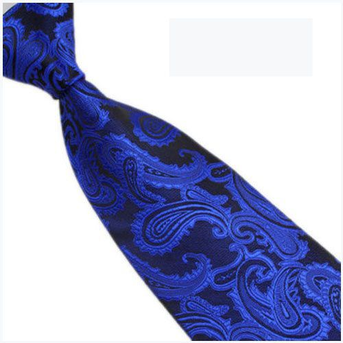 Kamalife Multi Paisley Silk Necktie