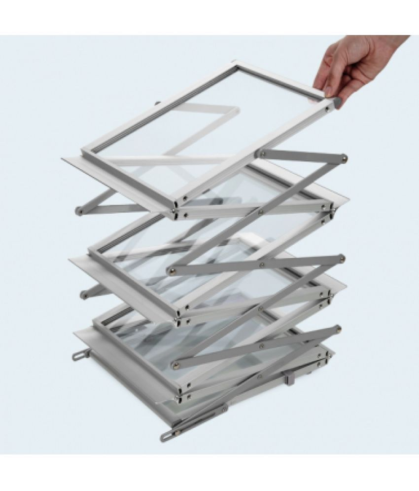 abha a4 large 6 tray catalogue stand magazine stand portable rh snapdeal com