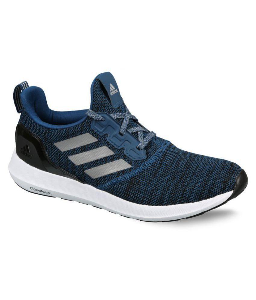 best service c1e39 1fb83 Adidas Zeta 1.0 Blue Running Shoes