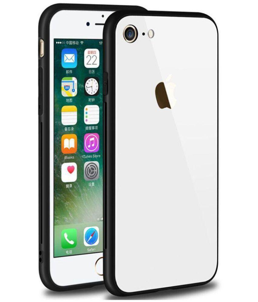 sports shoes b81c7 0fbcc Apple iPhone 7 Glass Cover Karwan - White