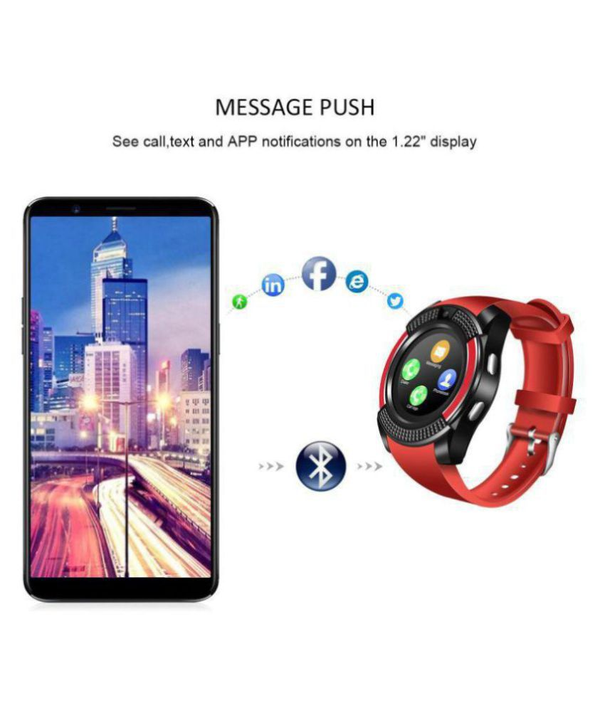 SKYRISE V8 Smart Watches