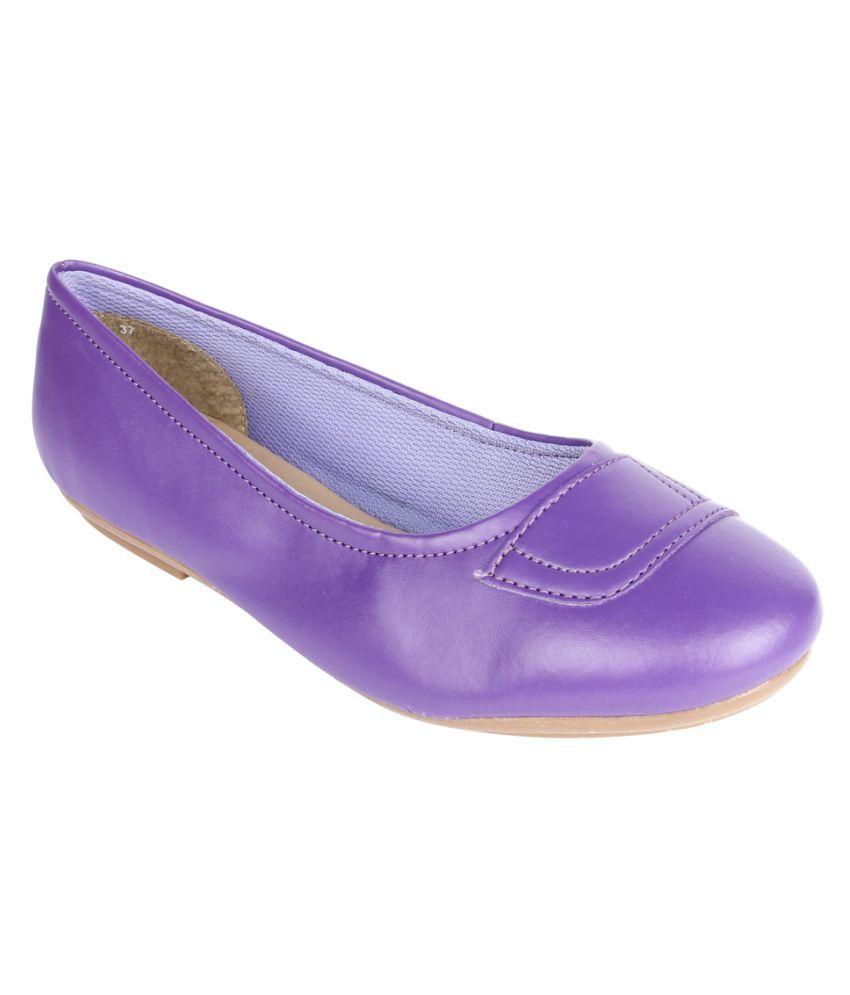 Senorita By Liberty Purple Casual Shoes