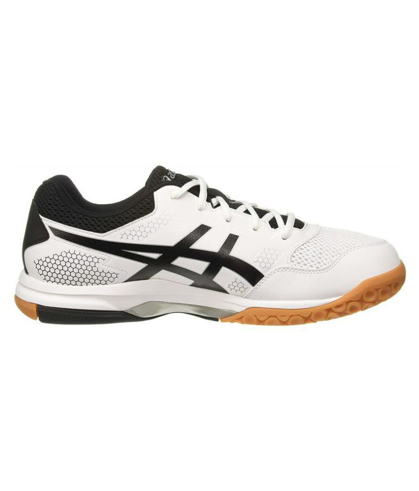 ffdd5e1776cc5 Asics Gel-Rocket 8 White Running Shoes - Buy Asics Gel-Rocket 8 ...