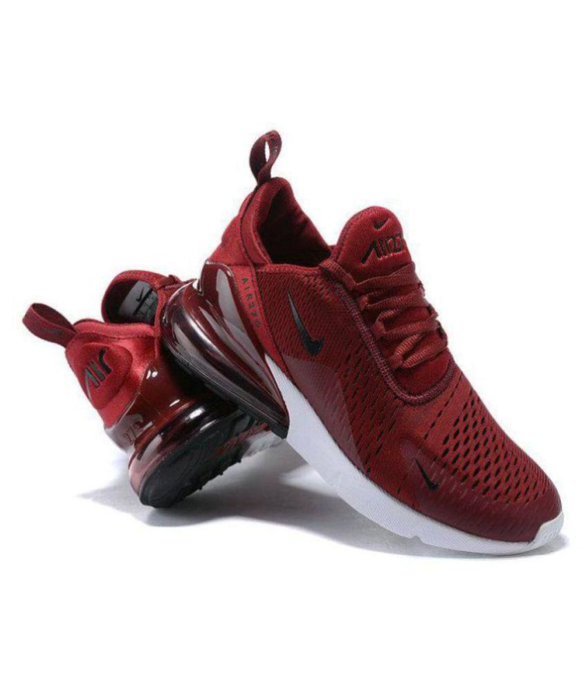 Nike AIR MAX 27 C Red Running Shoes