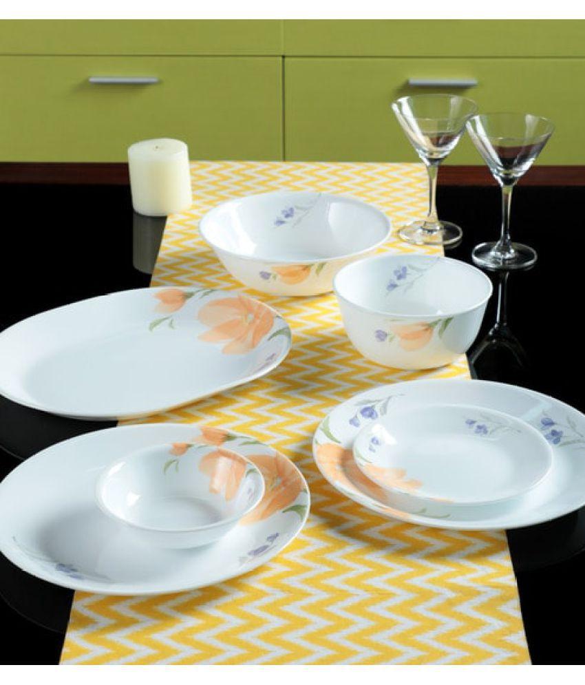 Corelle 21-BGN Glass Dinner Set of 21 Pieces