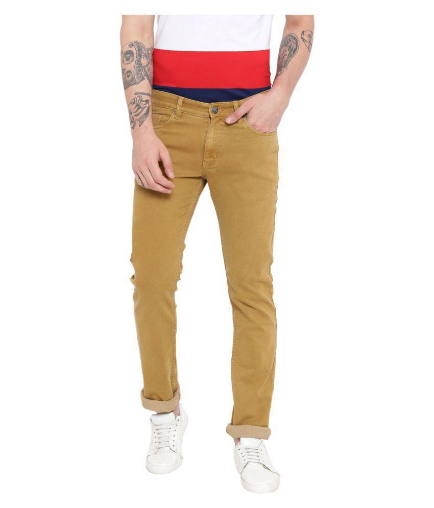 Duke Khaki Slim Jeans