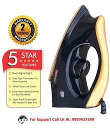 DIGISMART JAGUAR Dry Iron BLACK