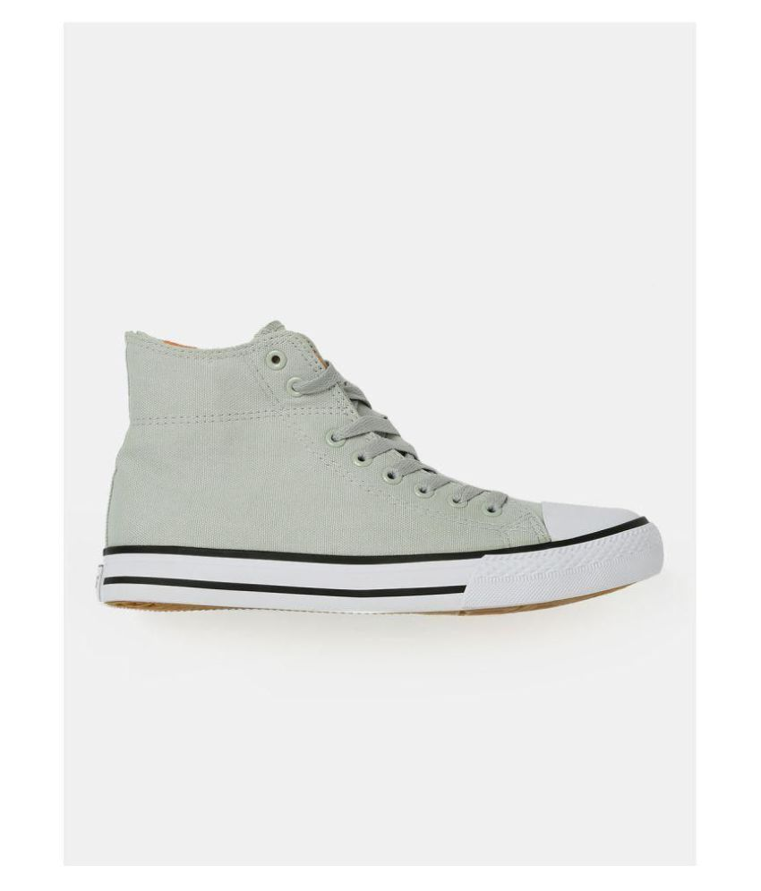 221caa7e211 Roadster Men High-Top Sneakers Gray Casual Shoes - Buy Roadster Men ...