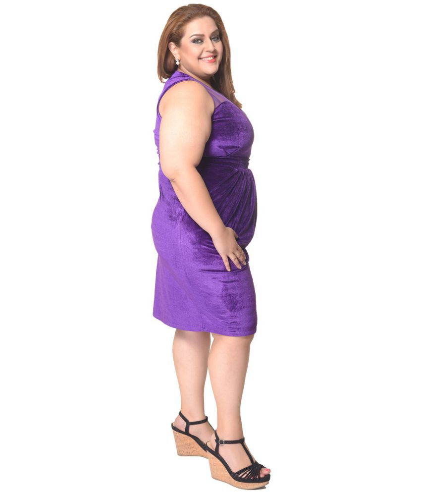 e52816473561 Trendy Divva Velvet Purple Bodycon Dress Trendy Divva Velvet Purple Bodycon  Dress ...