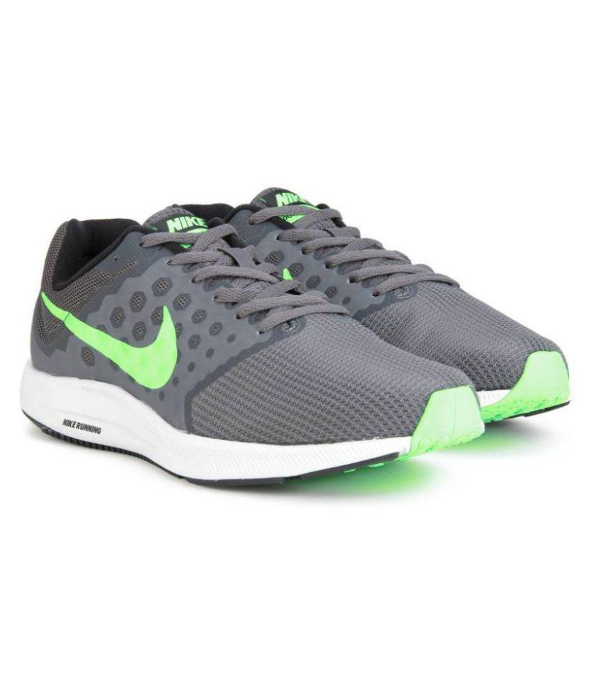 adfb91258ed2 Nike DOWNSHIFTER 7 Grey Running Shoes - Buy Nike DOWNSHIFTER 7 Grey Running  Shoes Online at Best Prices in India on Snapdeal