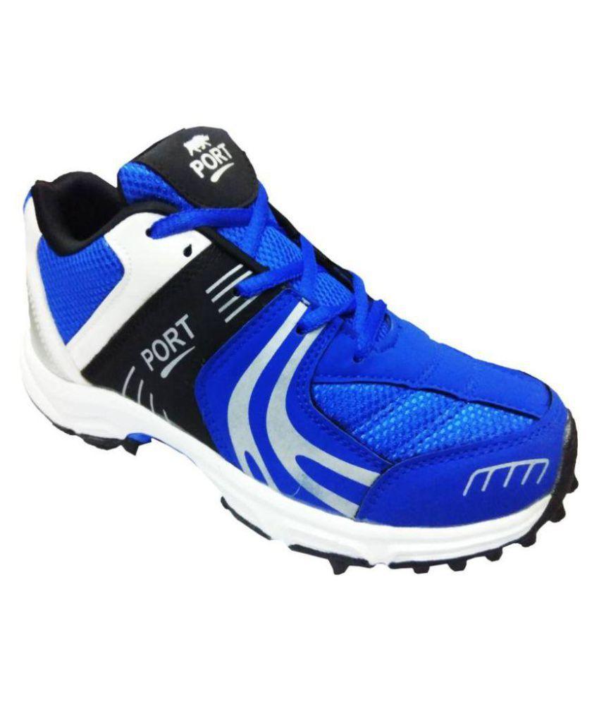 Comex Blue Cricket Shoes