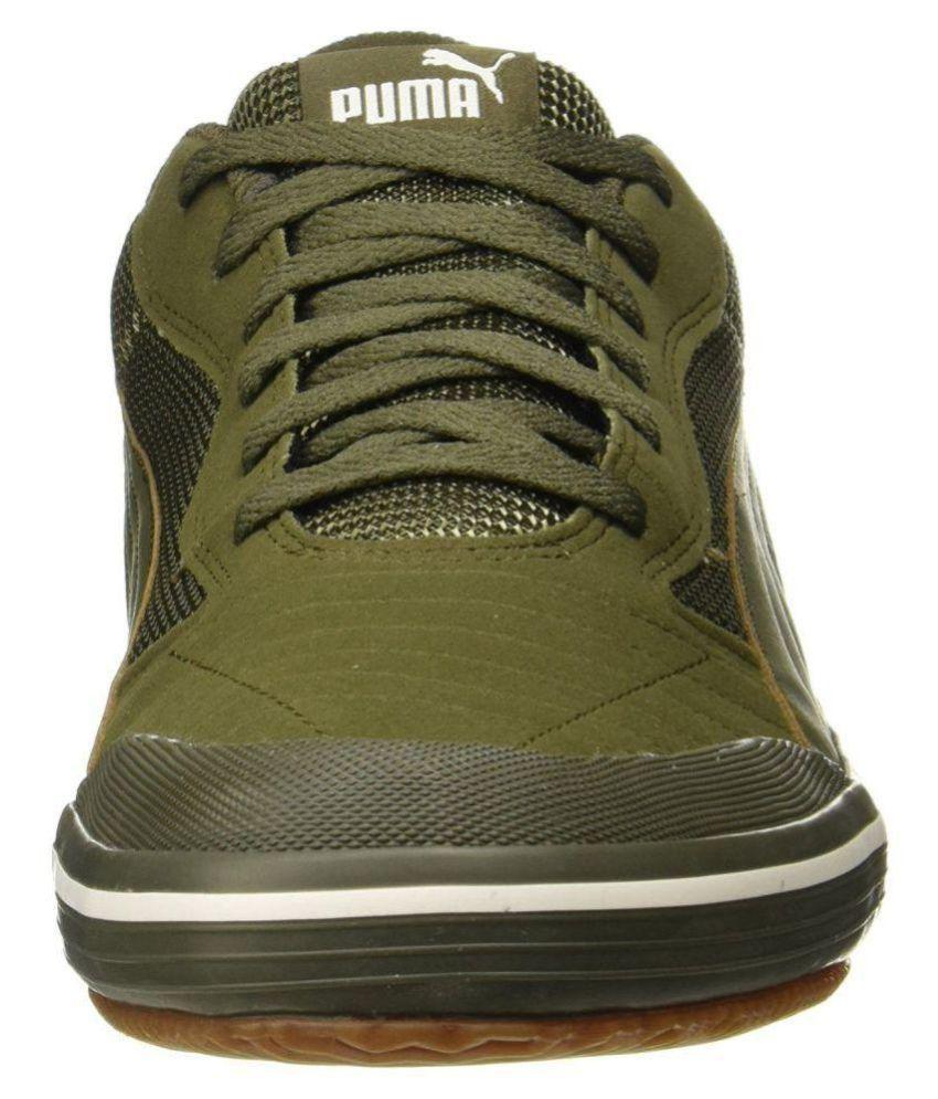 Puma Astro Sala Sneakers Olive Casual