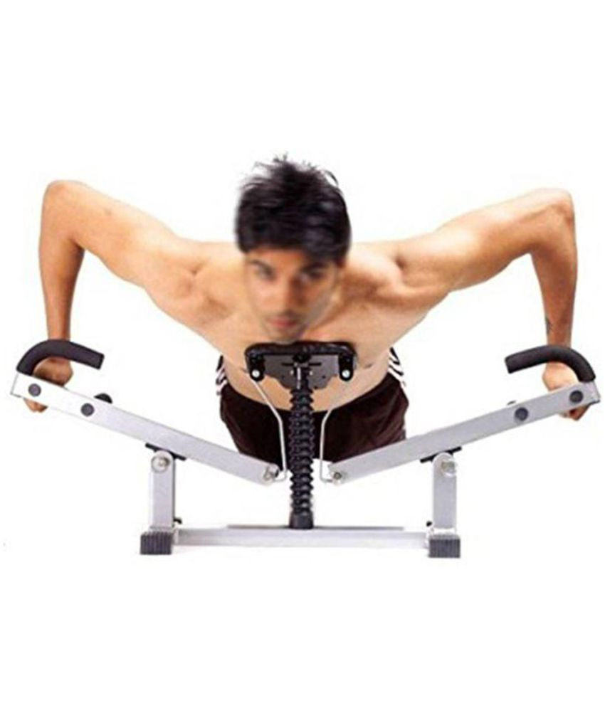 Pump Toner Six Pack Biceps Push up Home gym Chest Arms
