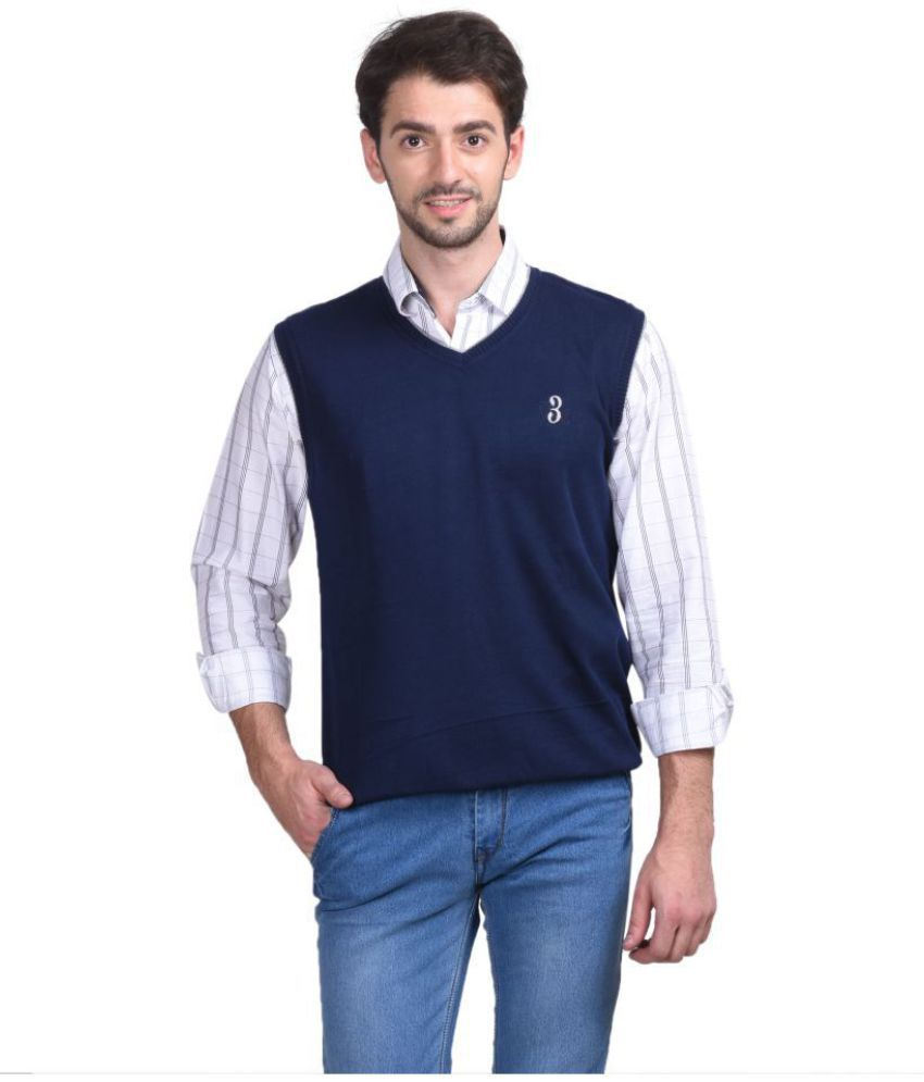 Concepts Navy V Neck Sweater