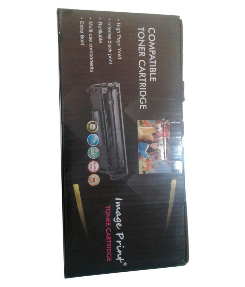 Image Print Toner Cartridge 12a Black Single