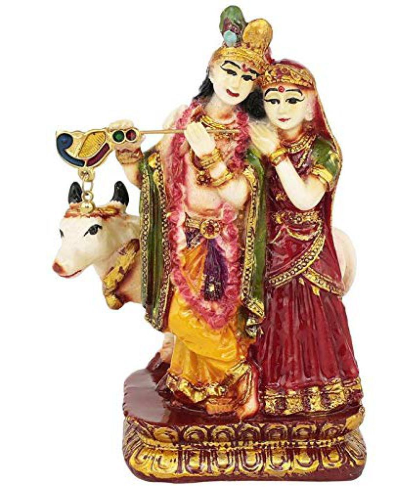 Art For Gifting Radha Krishan Polyresin Idol