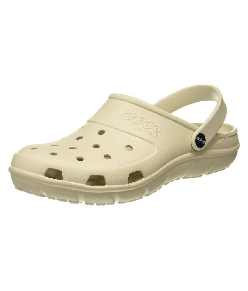 a6ffa4b124a Crocs Unisex Jibbitz by Presley Clogs White Synthetic Floater Sandals - Buy  Crocs Unisex Jibbitz by Presley Clogs White Synthetic Floater Sandals Online  at ...