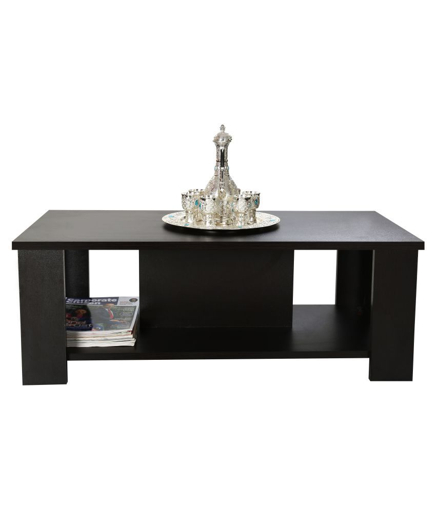 Minala Center table - By Comfy (Color : Wenge, Material : Premium Quality Engineered Wood